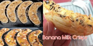 Banana Milk Crispy by Gilang Kusumajati