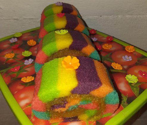 Bolu gulung Lapis warna warni by Yulia Lia 3