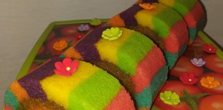 Bolu gulung Lapis warna warni by Yulia Lia 4