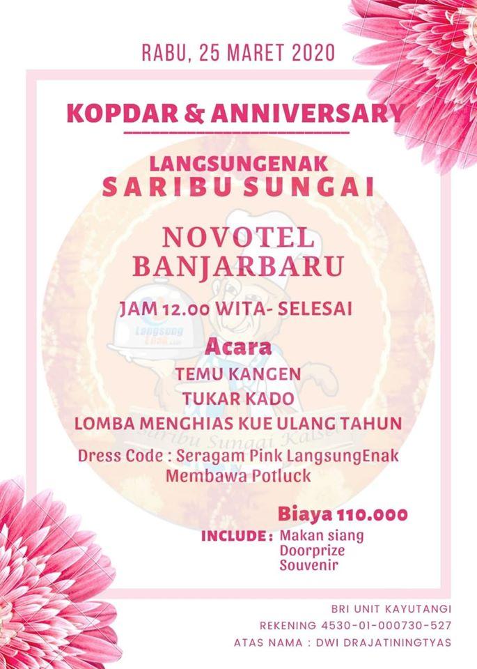Anniversary Grup Langsungenak Saribu Sungai ke-4