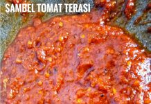 Sambel Tomat plus Terasi by Novie Kurnia Wardani