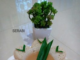 Serabi kuah Kinca by Nur Izzati Azfa