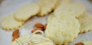 ALMONDS BUTTER COOKIES by Mala Muhammad Anwar
