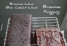 BROWNIES PANGGANG by Mega Siswindarto