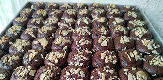 Brownies shinnycrust almond by Vebby's Kittchen
