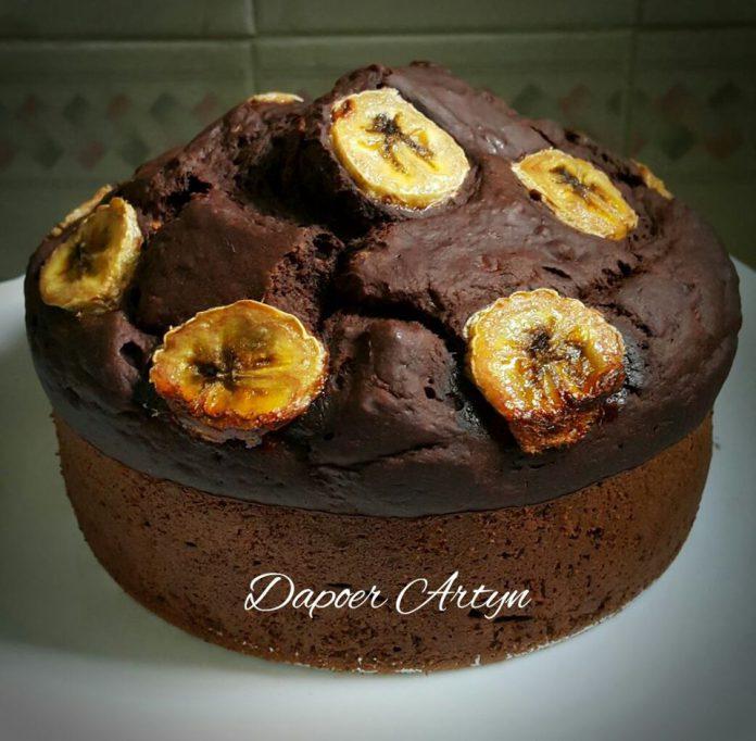 Cake Pisang Tanpa Telur by Ainie Dihati Adjie
