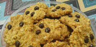 Coklat chip cookies by Nur Puspa