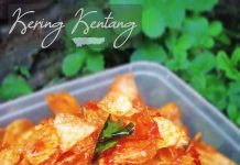KERING KENTANG by Dianish's Kitchen