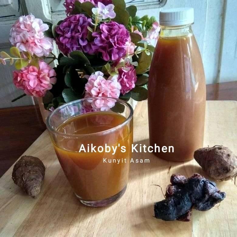Kunyit asam gula jawa by Laily Fadhilah