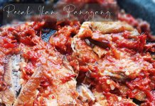 PECAK IKAN ASAP/PANGGANG by Dianish's Kitchen