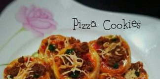 PIZZA COOKIES by Dianish's Kitchen