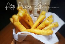 POTATO CHEESE STICK by Dianish's Kitchen
