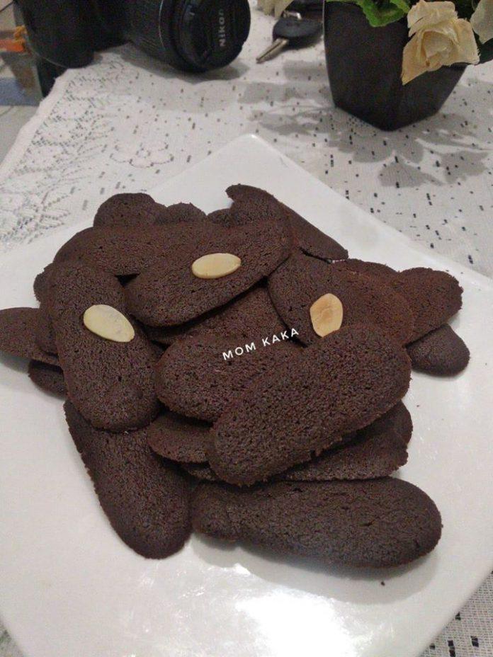 Resep lidah kucing coklat by Khori