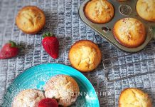 STRAWBERRY MUFFINS by Monica Mohamed Salah
