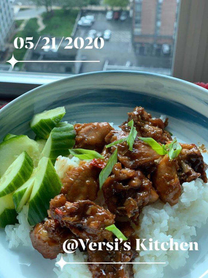 Vietnamese Lemongrass Chicken (Ayam sereh ala Vietnam) by Sisca T Cole