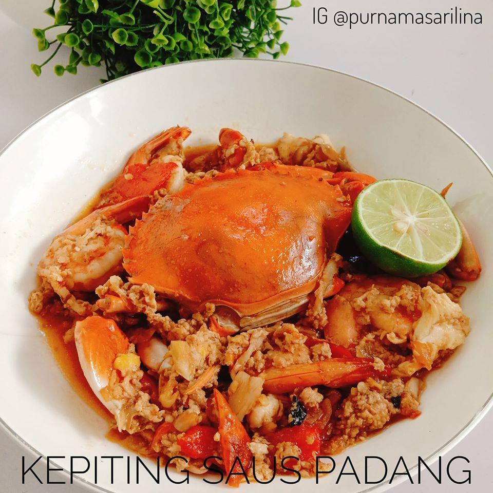 Kepiting Saus Padang by Lina Purnamasari