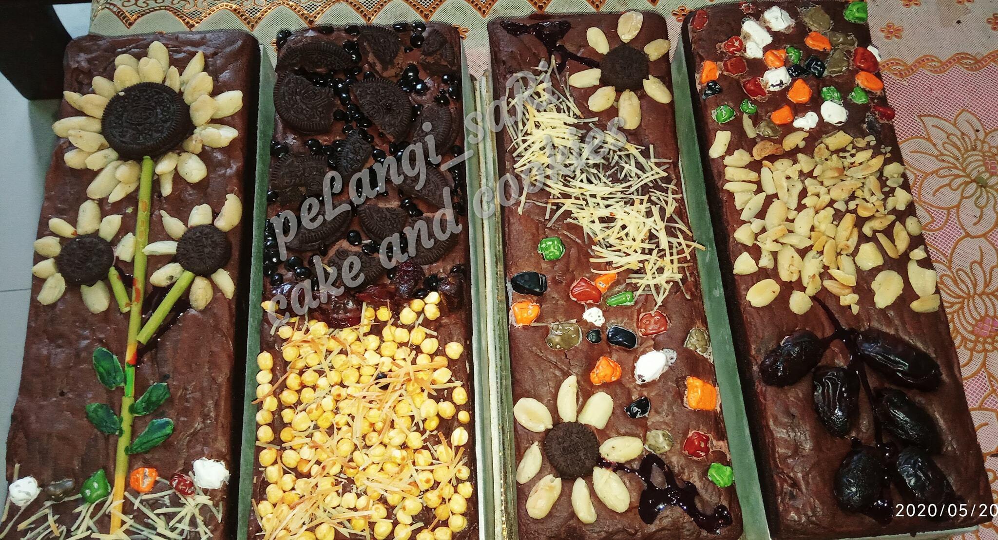 shiny crust Brownies by PeLangi SaRi