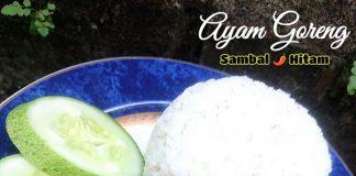 AYAM GORENG SAMBAL HITAM by Melany Sam's