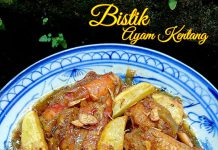 BISTIK AYAM KENTANG by Melany Sam's