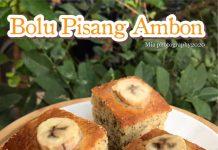 BOLU PISANG AMBON by Mia Sakur