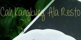 Cah kangkung ala resto by Hasmiati Aseri