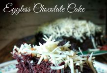 Eggless chocolate Cake by Oktarina Ummu Fatih
