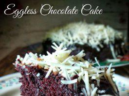 Eggless chocolate Cake by Oktarina Ummu Fatih