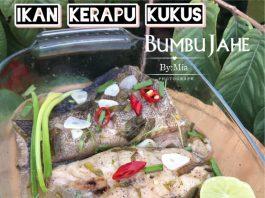 Ikan Kerapu Kukus Bumbu Jahe by Mia Sakur