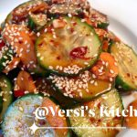 Korean Cucumber Kimchi by Sisca T Cole