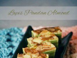Lapis Pandan Almond by Dinni Widia