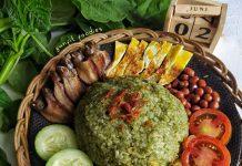 Nasi Uduk Bayam by Yuniarti Nur Fitria