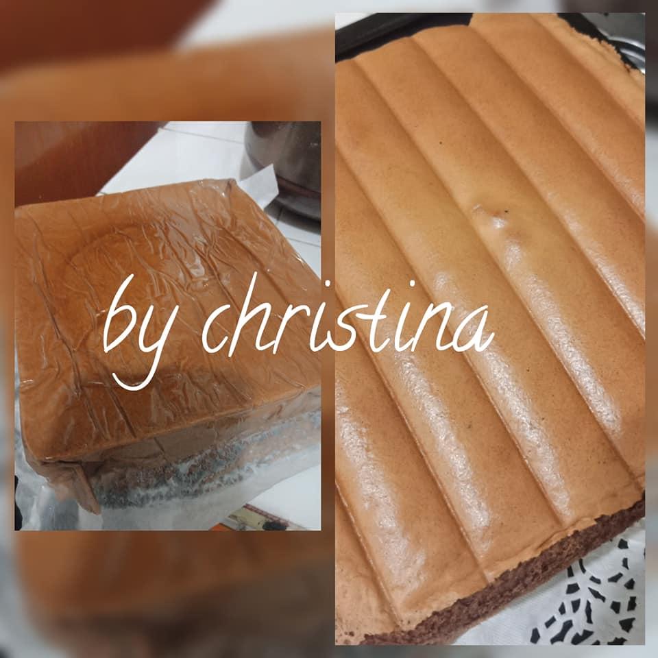 Ogura Coklat Cake By Christina Langsungenak Com