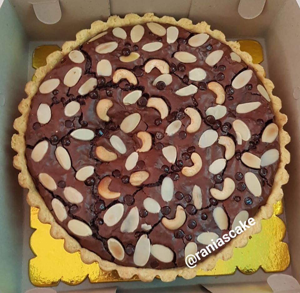 Pie Brownies by Nidatul Jamiati