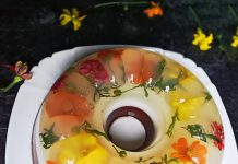 Puding Edible Flowers by Lia