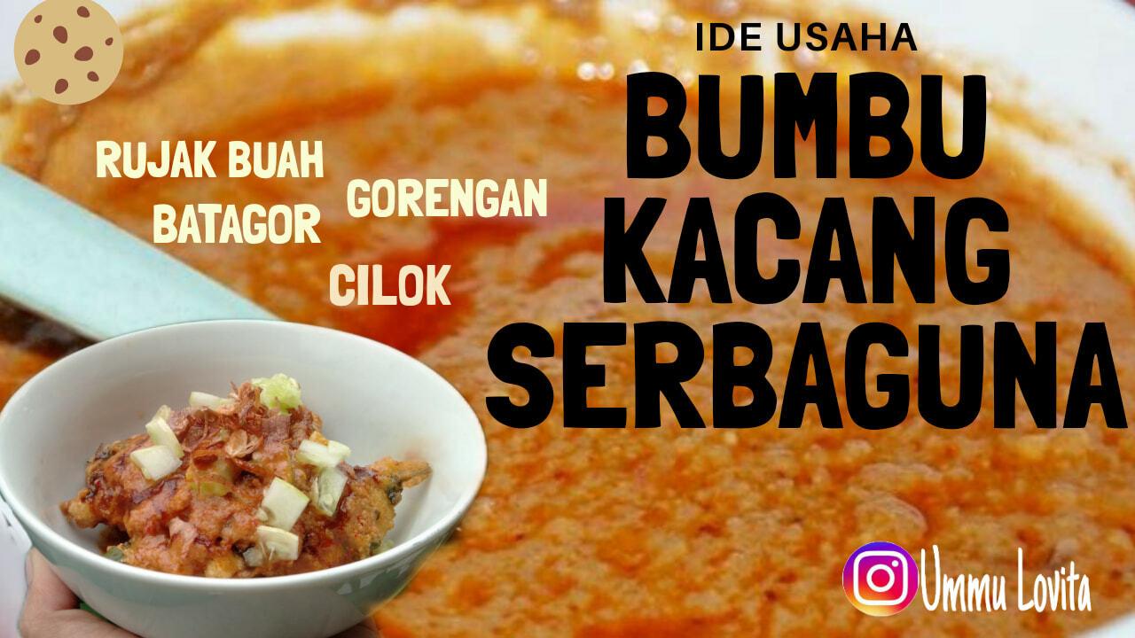 Resep Bumbu Kacang Serbaguna by Maisaroh UmmuLovita