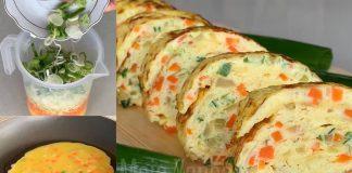 Resep Telur Dadar Tamagoyaki Jepang ala Korea by Dicky Ardiansyah