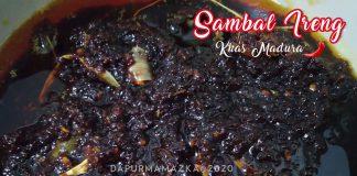SAMBAL IRENG / SAMBAL HITAM KHAS MADURA by Heni Fuji Astuti