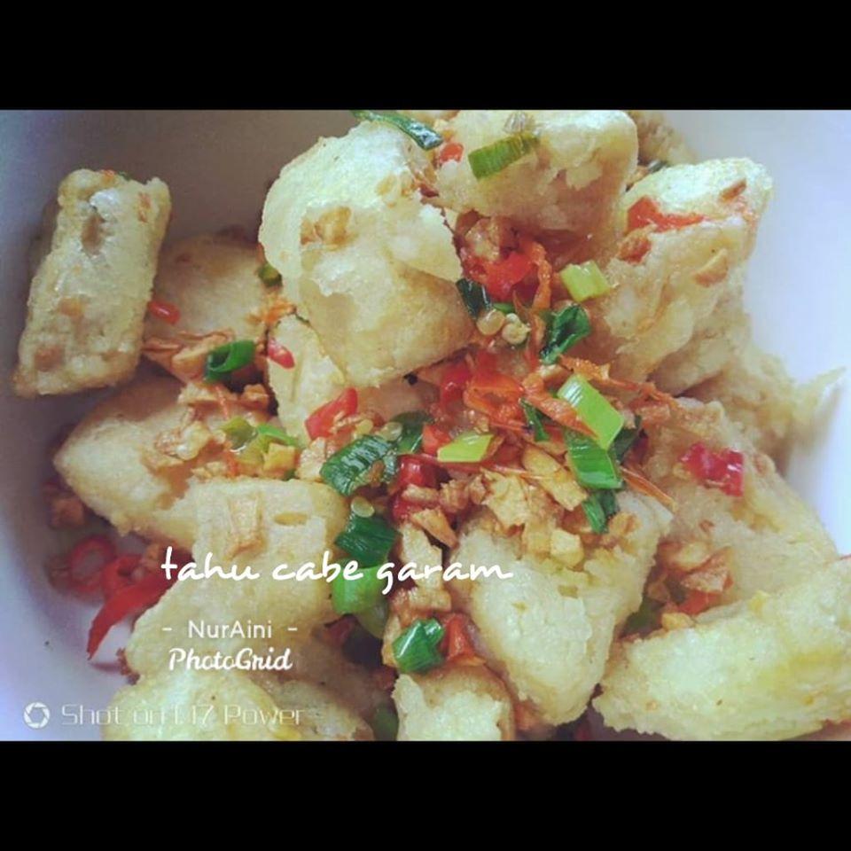 Tofu Chili Salt By Nur Aini Directlyenak Com