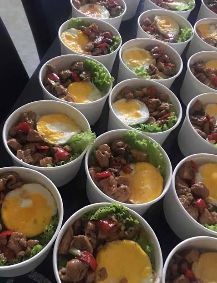 rice bowl ayam kecap inggris alakadarnya by Laili Hanum