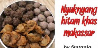 BAKSO SAPI HALAL KHAS MAKASSAR dan pangsit goreng by Fentania Mak