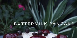 BUTTERMILK PANCAKE (NO TELUR) by Amelia Septifani
