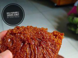 Bolu Karamel Ekonomis tanpa mixer by Dewi Mega