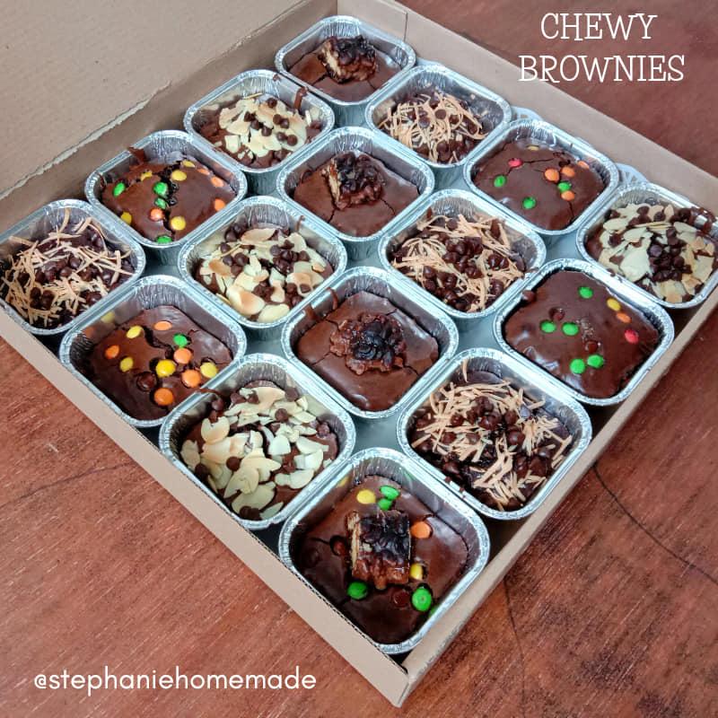 CHEWY BROWNIES by Stephanie Febrian 2
