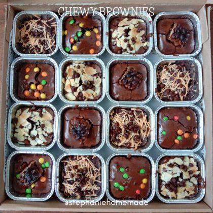 CHEWY BROWNIES by Stephanie Febrian