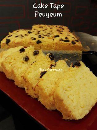 Cake Tape Peuyeum Keju by Wahyu Nursanti Suratman