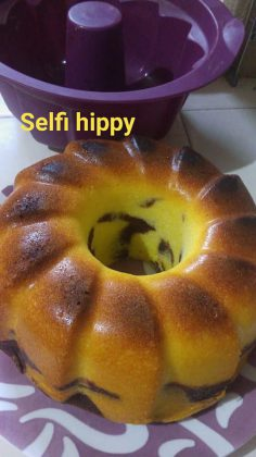 Cake marmer by Selfi Hippy