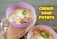 Cream Soup Potato by Maharani Pinkky