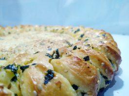 KOREAN GARLIC CHEESE PIZZA by Andi Mardhiyah Idris