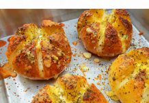 Korean cheese garlic bread by Dian Puspitasari