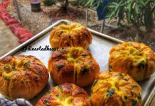 Korean garlic cheese bread by Dhea Ramadhan Dinarta